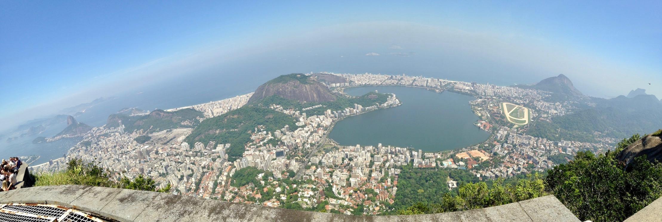 View of Rio – Cristo Redentor