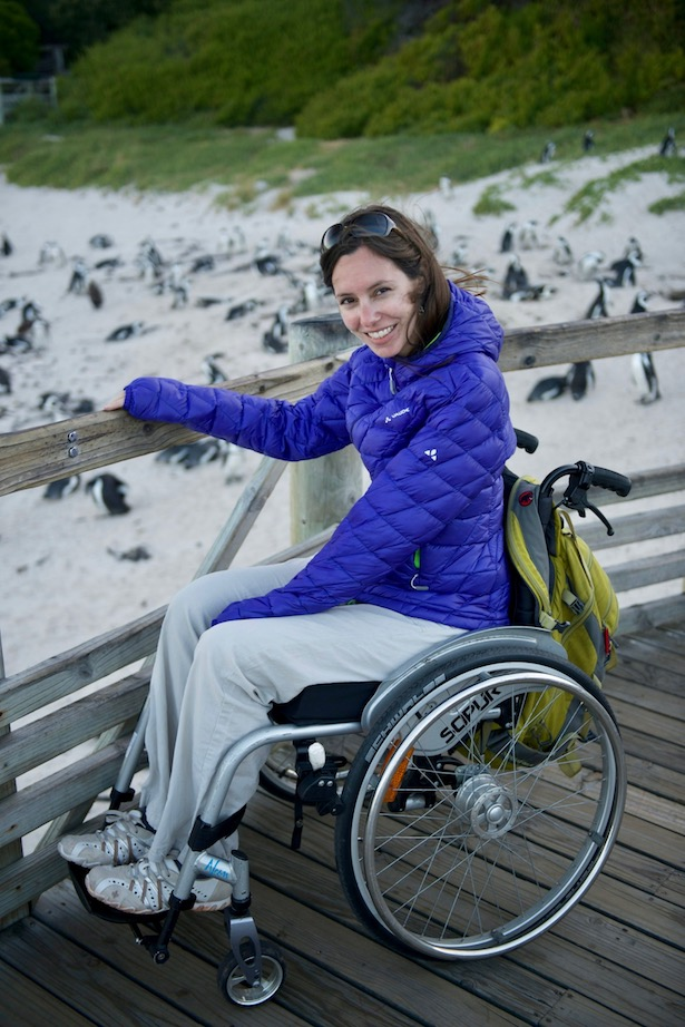 Wheelchair accessible Boulders Beach Little Miss Turtle